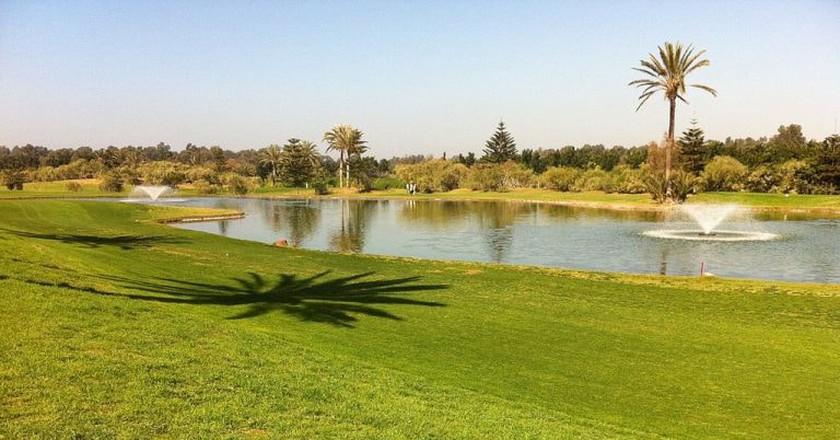 Verdant golf course in Morocco | © R-E-AL / Wikimedia Commons