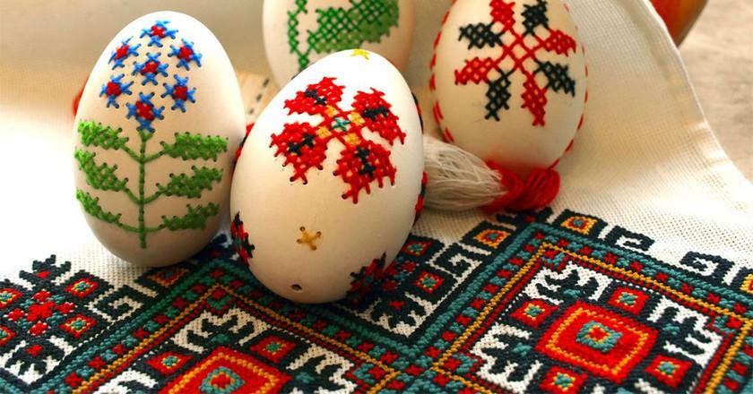 Ukrainian embroidery|©Qypchak/WikiCommons