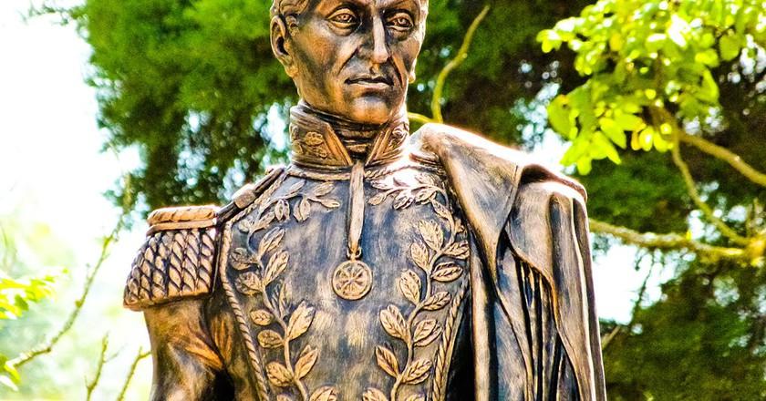 Statue of Simón Bolívar | ©Marielaveas/ WikiCommons