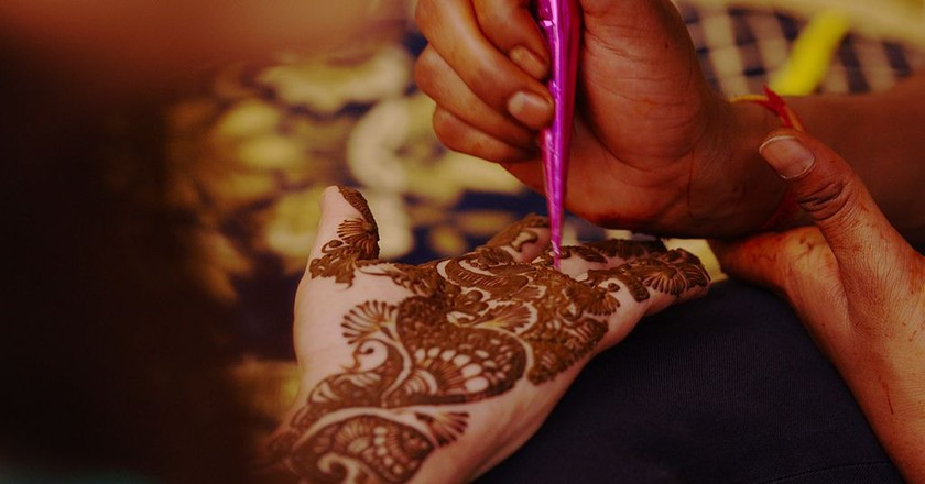 Mehndi at a East Indian Wedding | © Bandan / Flickr