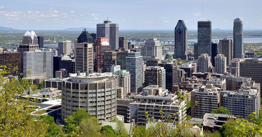 Montreal skyline | © Taxiarchos228 / WikiCommons