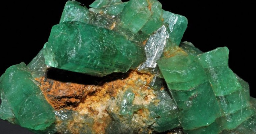 Colombian emeralds | © Géry Parent / Flickr