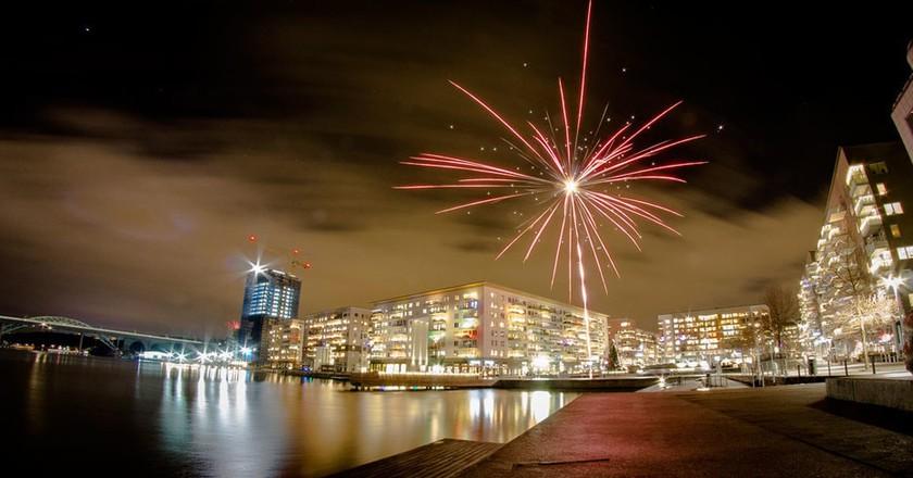 New Year's Fireworks in Stockohlm | © Benjamin Horn / Flickr
