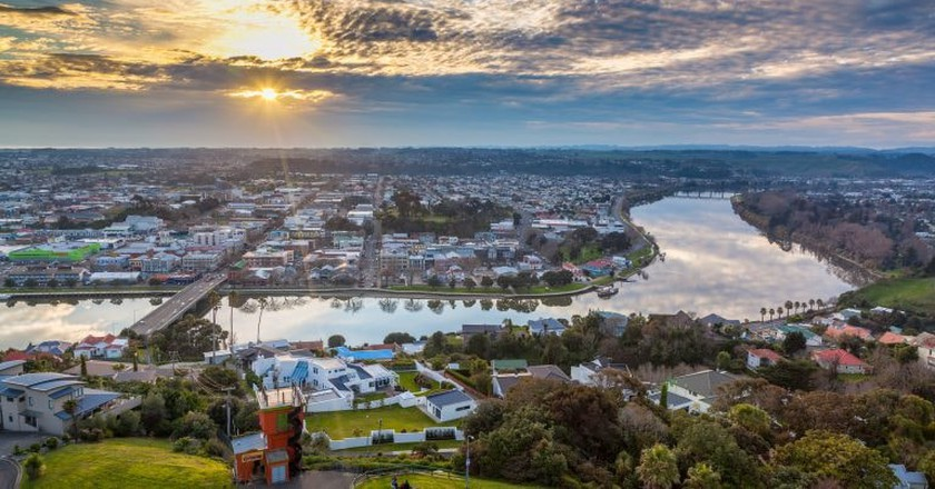 Whanganui River from Durie Hill | © russellstreet/Flickr