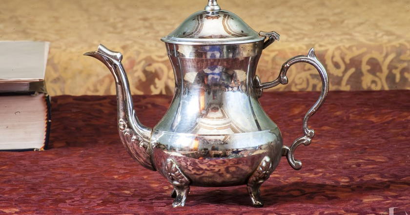 Traditional Moroccan teapot | © Rachid Ahitass / Flickr