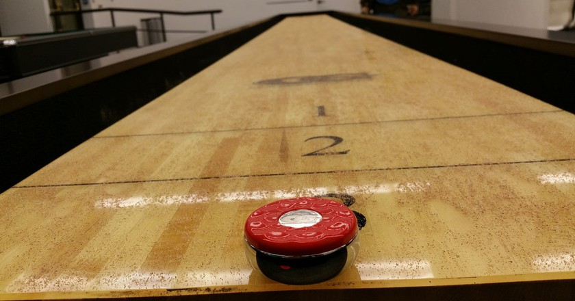 Shuffleboard is very popular in Stockholm   © Archie/Flickr
