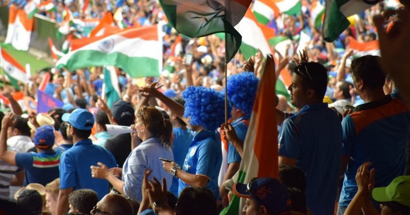 Indian cricket fans during the 2015 World Cup   © Tourism Victoria / Flickr