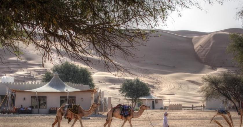 Desert Camp © Prasad Pillai  Flickr