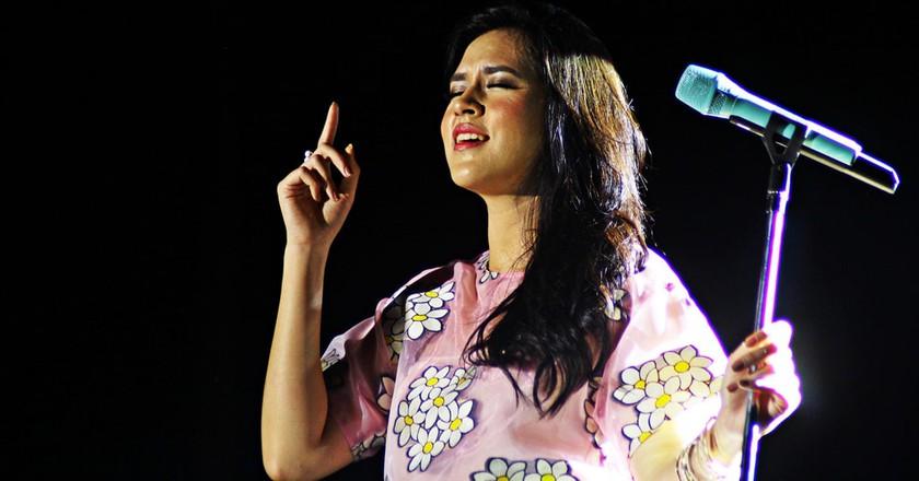 Indonesian singer Raisa Andriana | © Mas Agung Wilis Yudha Baskoro/Flickr