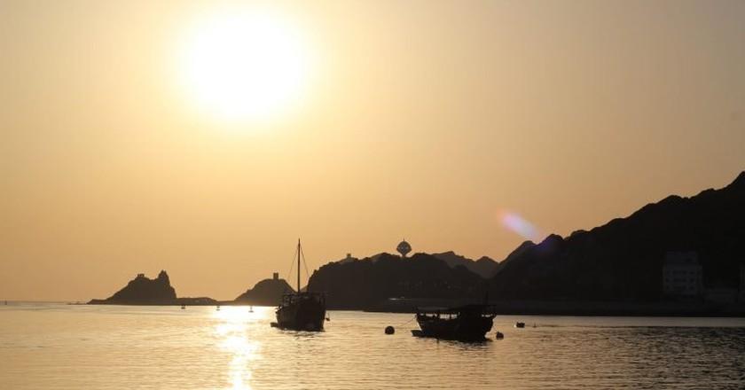Sunset in Mattrah © Riyadh Al Balushi/Flickr
