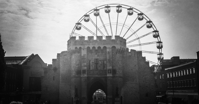 The Bargates and The Wheel | © Mike Beales