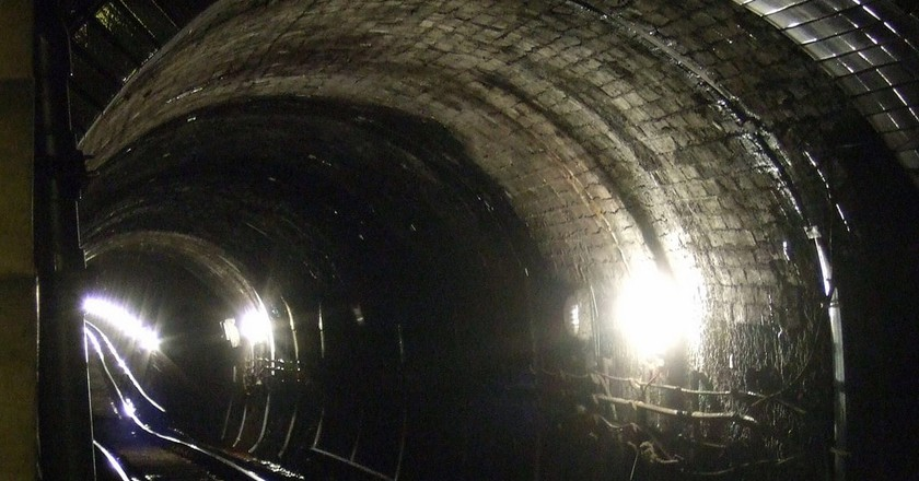 The Glasgow subway tunnels | © James Cridland/Flickr