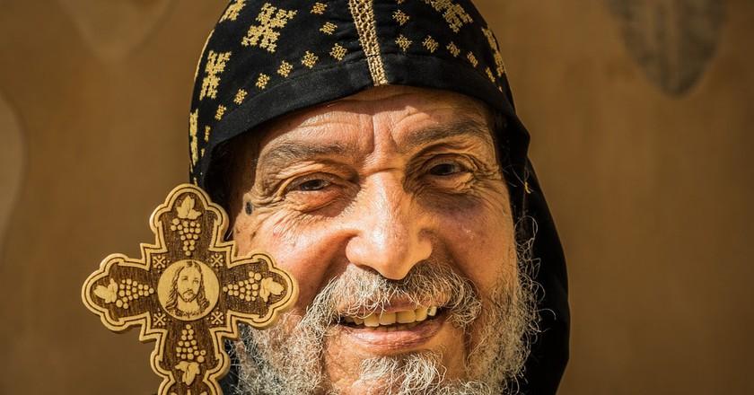 An Egyptian Coptic Christian | © Mark Fischer/Flickr