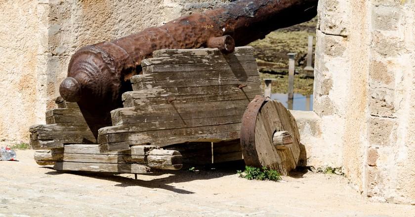 A cannon at the fortress in El Jadida | © xiquinhosilva/Flickr