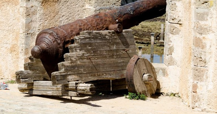 A cannon at the fortress in El Jadida | © xiquinhosilva/Flickr