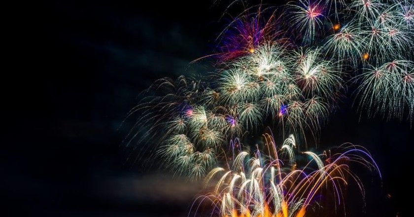 Fireworks in Vancouver | © Larry Qian / Flickr