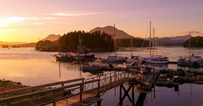 Sunset in Tofino | © Fyre Mael / Flickr