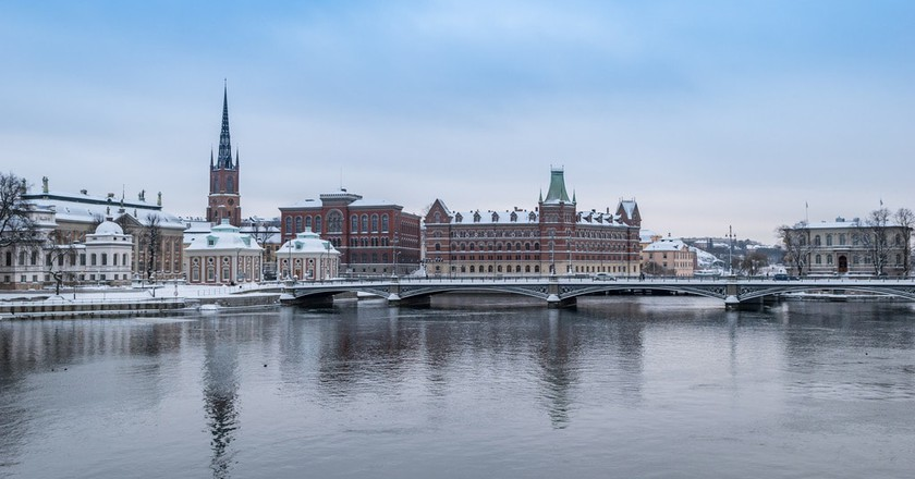 Stockholm is truly beautiful in the winter | © Falco Ermert / Flickr