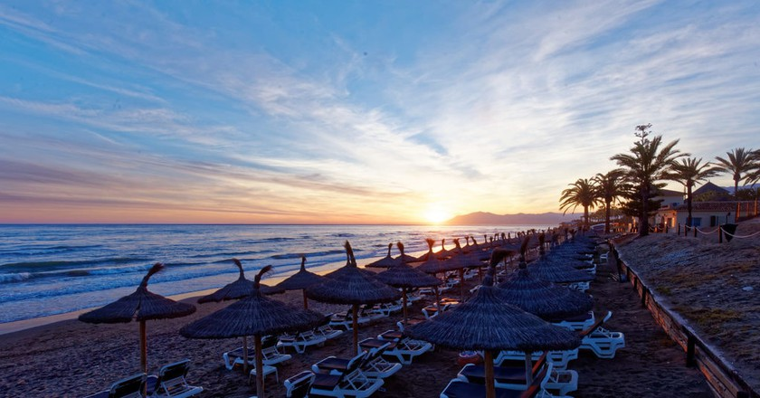 Fontanilla beach, Marbella; Michael Vadon/flickr