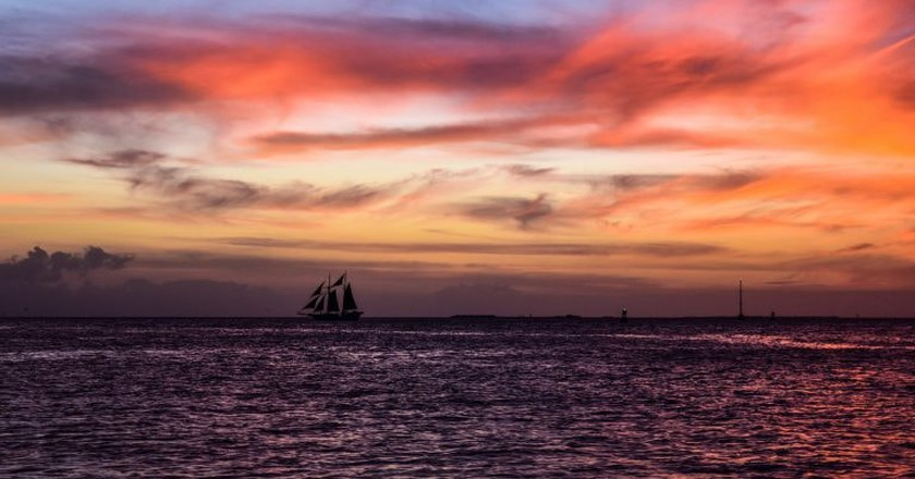 Sunset in Key West   © Lonni Besançon / Flickr