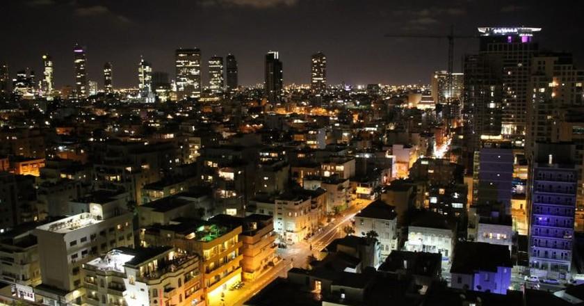 Tel Aviv by Night | © Eduard Marmet/Flickr