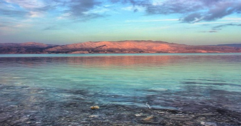 The Dead Sea at sunset, Israel | © Yair Aronshtam / Flickr