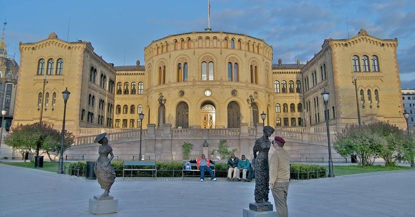 The Norwegian Parliament | © Alexander Ottesen / Flickr