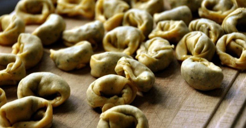 The Story Behind the Origin of Tortellini Pasta