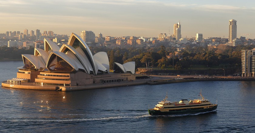 Manly Ferry and Opera House | © Ed Dunens/Flickr https://flic.kr/p/X4Skhz