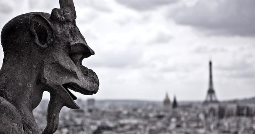 Gargoyle in Paris |©Dylan / Flickr