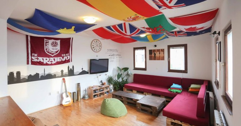 Common Area | Courtesy of Hostel Balkan Han
