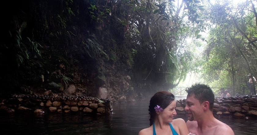 Colombian hot springs