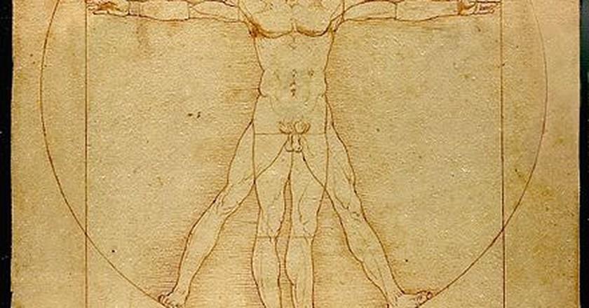 Leonardo da Vinci, 'Vitruvian Man' | ©Luke Viator / WikiCommons
