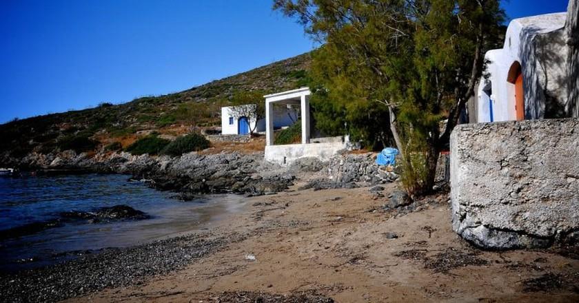 Limnionas Beach, Kythira, Greece   © Dennis Beentjes/Flickr