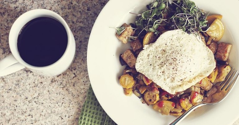 Tempeh for breakfast | ©Stacy/Flickr