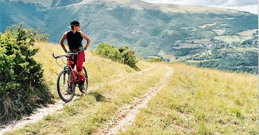 Biking in Monte Sibillini|©G. Grifoni/WikiCommons
