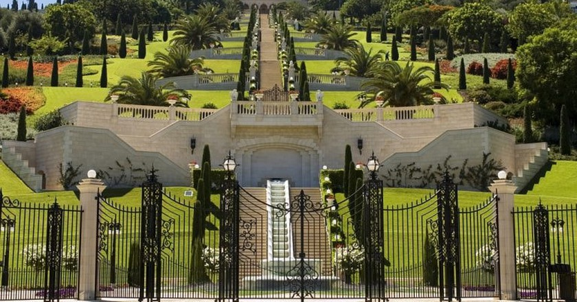Bahai's Gardens in Haifa   ©Israeltourism/Flickr
