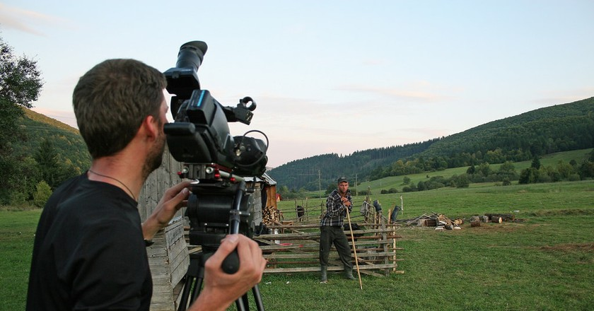 Filming in Romania | © Paul White/ Flickr