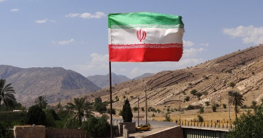 Iranian flag | © Adam Jones / Flickr