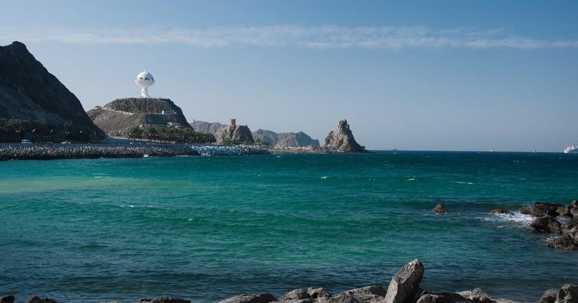 Oman Seashore © Gchampeau  Flickr
