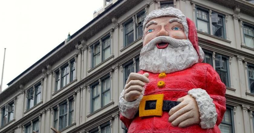 'Creepy' Santa | © Sarah-Rose/Flickr