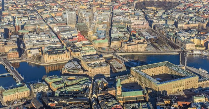 Stockholm from the air   © Arlid / Flickr