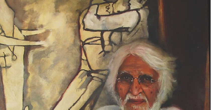 M.F. Husain was a prolific painter on whom the biography Husain: Portrait Of An Artist is based | © Yanko Tihov / Wikicommons