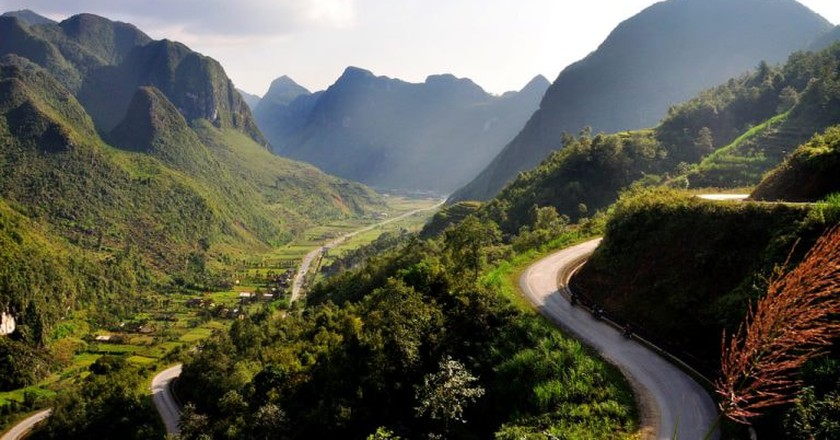 A mountain pass in northern Vietnam | © Nhi Dang/Flickr