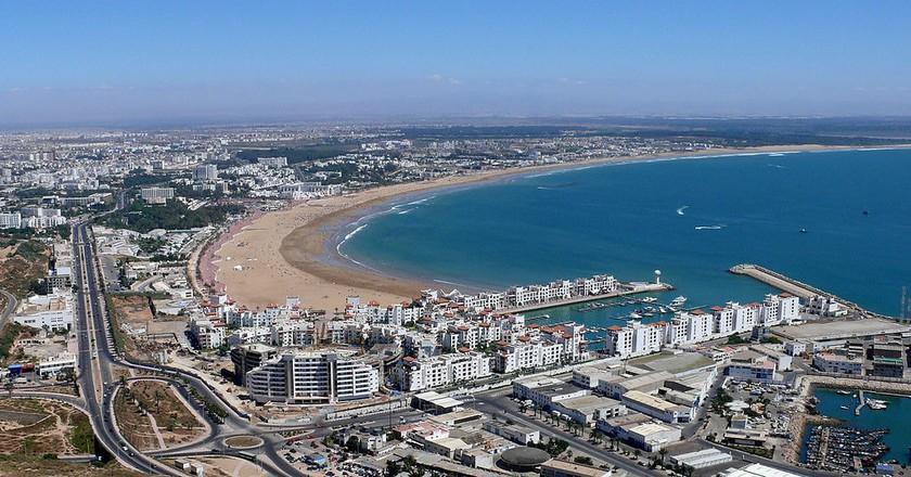 Views over Agadir, Morocco | Michel Terrier / Wikimedia Commons