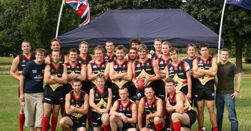 Ealing Emus AFL Team | © Lucas Cullen/WikiCommons
