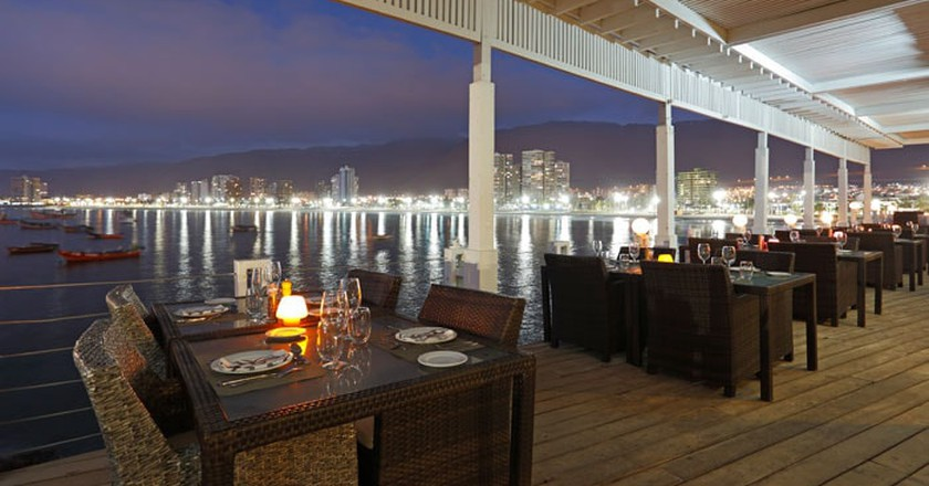 Incredible Setting and Food | Courtesy of Restaurant El Sombrero Terrado Suites