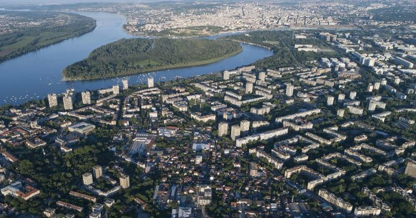 An aerial shot of the Serbian capital   © WikiCommons