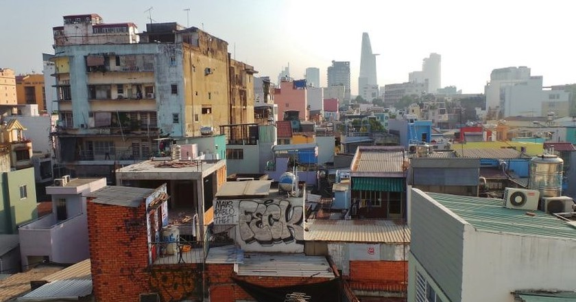 Saigon skyline | © Gareth Williams/Flickr