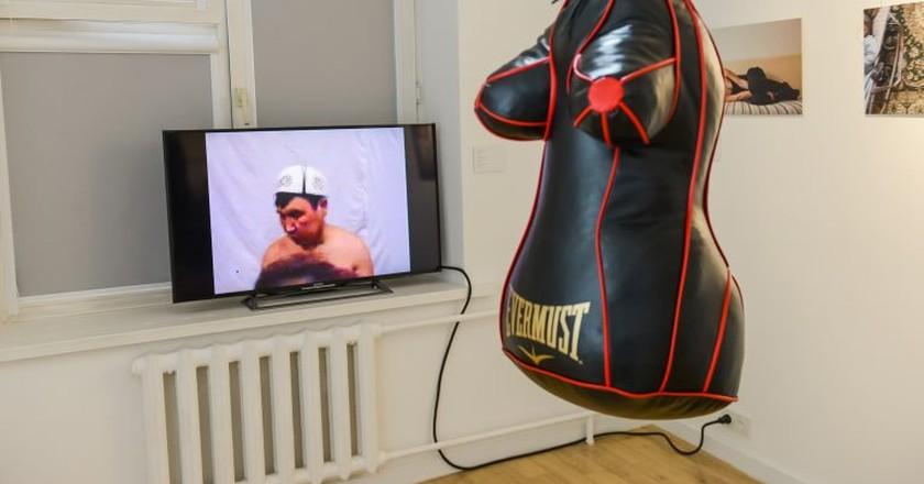 Human rights art | Courtesy ofSoros Foundation – Kazakhstan